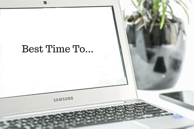 Best Time To…