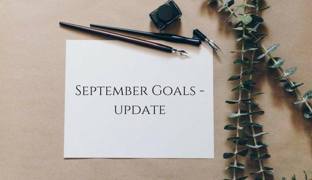 September Goals –Update